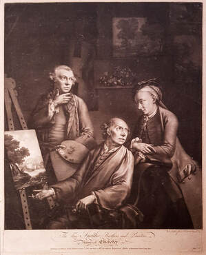 The Three Smiths; Brothers, and Painters, Natives of Chichester 1765  William Pether  Andrew Edmunds Prints
