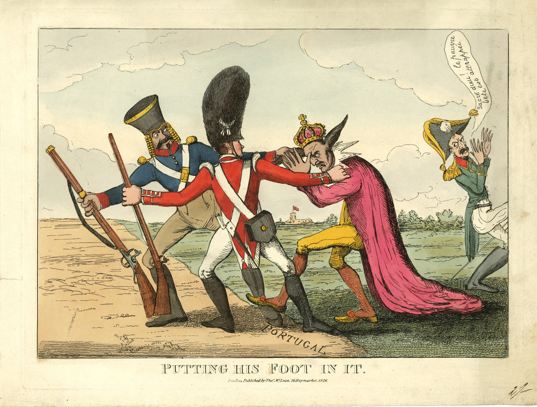 Putting His Foot In It  1826  Unidentified  Andrew Edmunds Prints