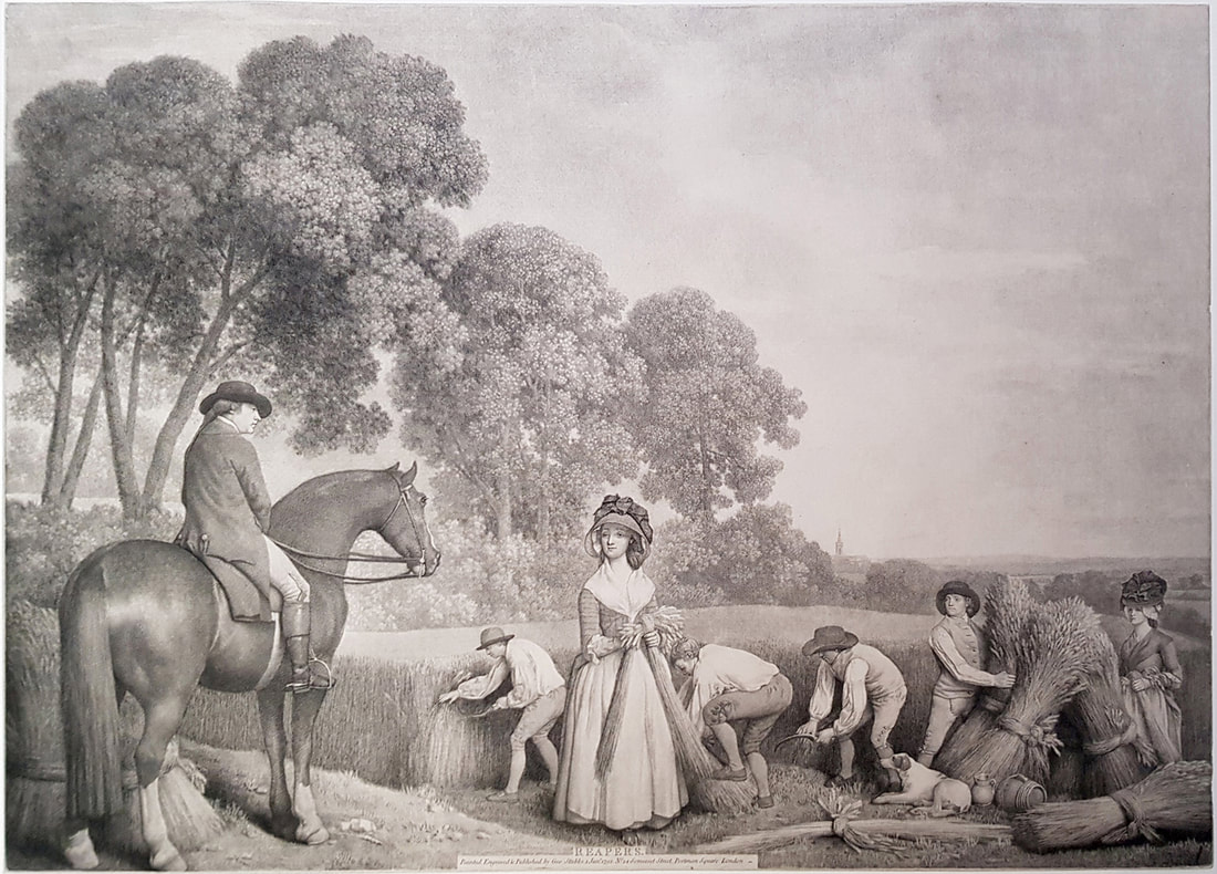 Reapers 1791  George Stubbs   Andrew Edmunds Prints